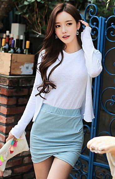 ソンユンジュさんのオルチャンファッション