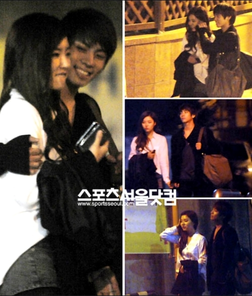 SHINee のジョンヒョンとシンセギョン熱愛