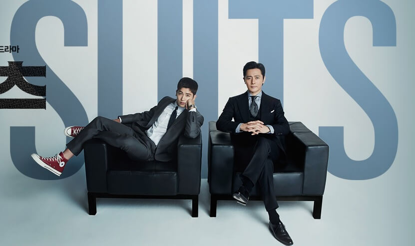 韓国ドラマスーツ