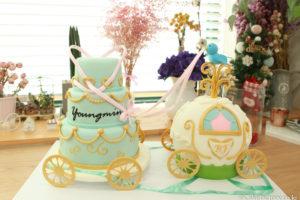 かわいいケーキ