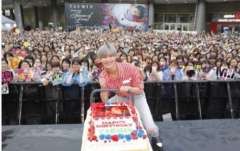テミン誕生日ケーキ