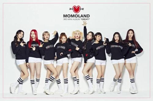 MOMOLAND(モモランド)は2018年1月「BBoom  BBoom」(プムプム)が大ヒット!現在韓国人気ガールズグループの7位に選ばれ、今年注目度の高いアイドルです。
