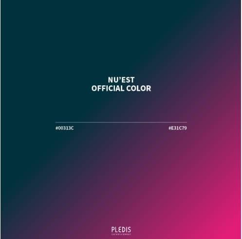 NU'EST公式カラー