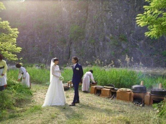 ウォンビンイナヨン結婚式