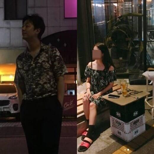 韓国俳優ペユラムと彼女