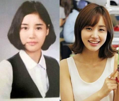 韓国女優ユンジニ卒アル