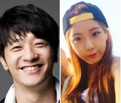 韓国俳優・歌手アレックスの彼女