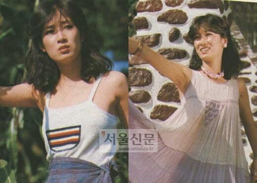 女優ナヨンヒの若い頃