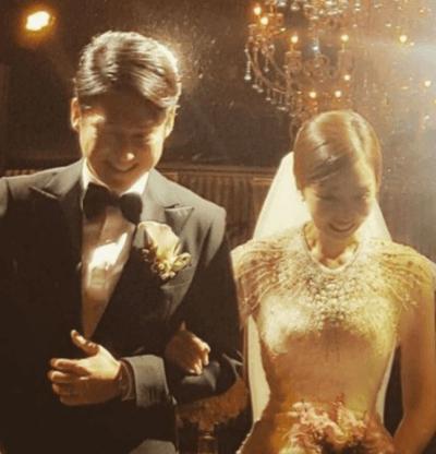 俳優ソンチャンウィの結婚