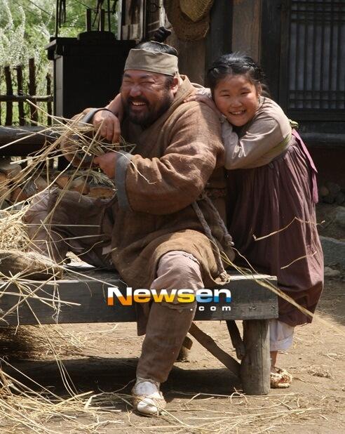 韓国俳優コチャンソクと娘