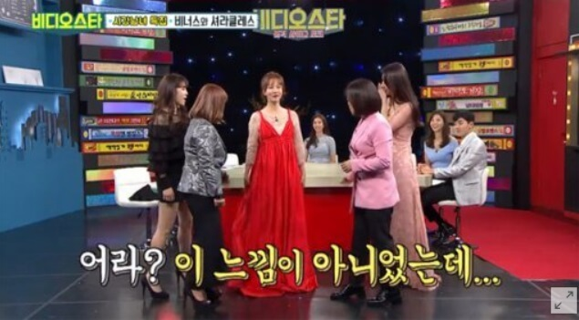韓国女優オイネドレス