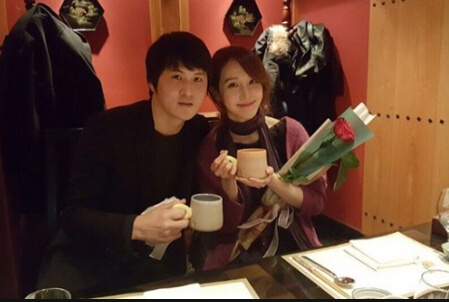 韓国女優チョアンと結婚した夫
