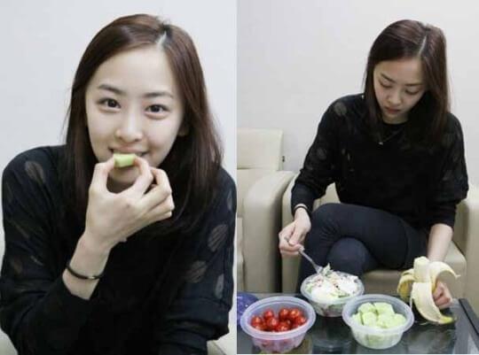 女優キムダソム元SISTARのダイエット