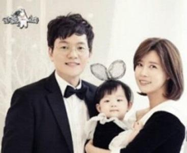 女優ユソンの家族、夫と子供