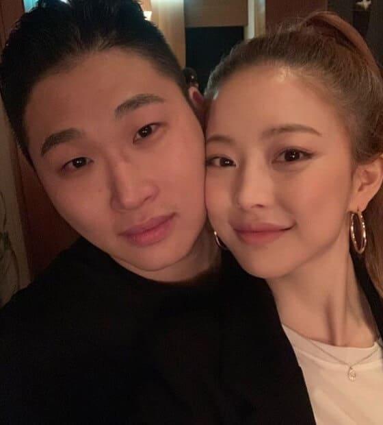 韓国女優インスタグラマーイムボラと彼氏