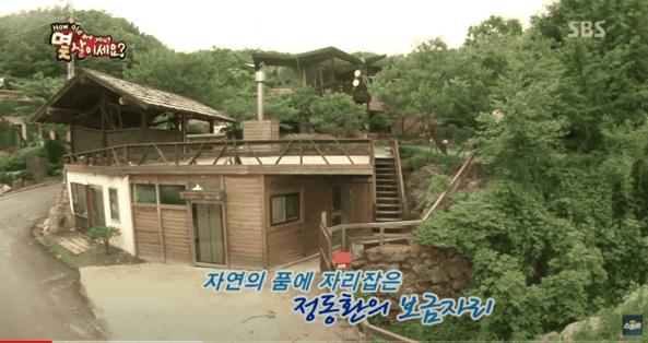韓国俳優チョンドンファンの家