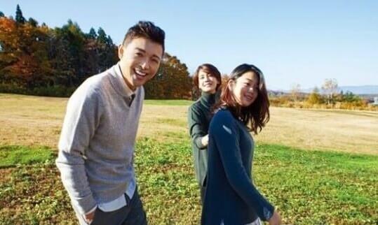 韓国俳優キムホジンと妻キムジホ、娘