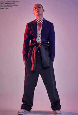 韓国俳優キムミングィモデル時代