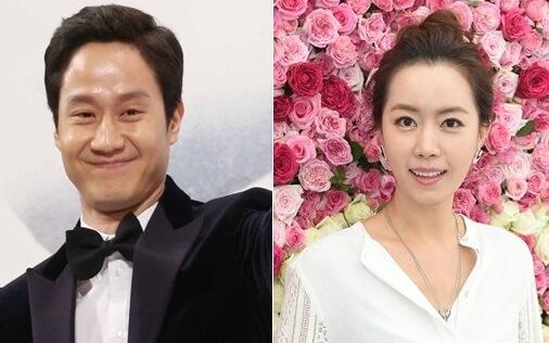 俳優チョンウと女優キムユミの結婚