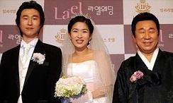 イムハリョンの息子の結婚式