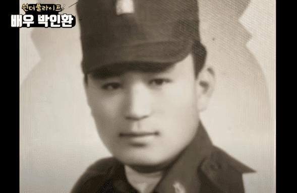 韓国俳優パクイナンの軍隊時代
