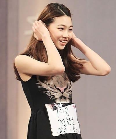 韓国女優でモデルのチョンホヨン、モデルサバイバルオーディションに出演当時