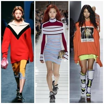 韓国女優でモデルのチョンホヨンのモデル時代