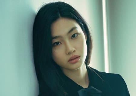 韓国女優でモデルのチョンホヨン
