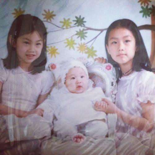 韓国女優でモデルのチョンホヨンの子供時代